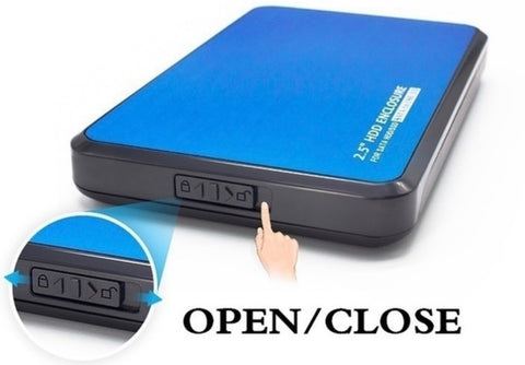 "HDD Case Enclosure suitable for up to 30TB 2.5"" SATA"