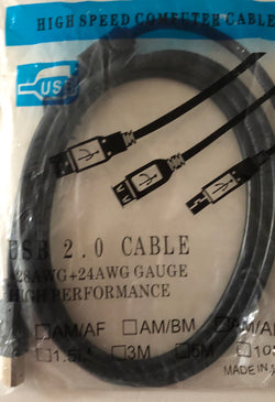High speed USB computer cable