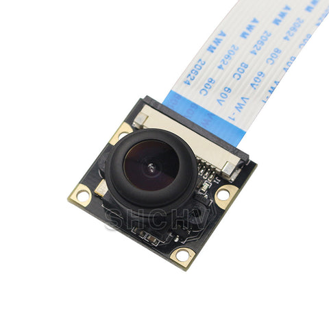 Raspberry Pi 3 Camera Night Vision Wide Angle Fisheye 5M Pixel 1080P Camera Compatible Raspberry Pi 2 Model B Free Shipping