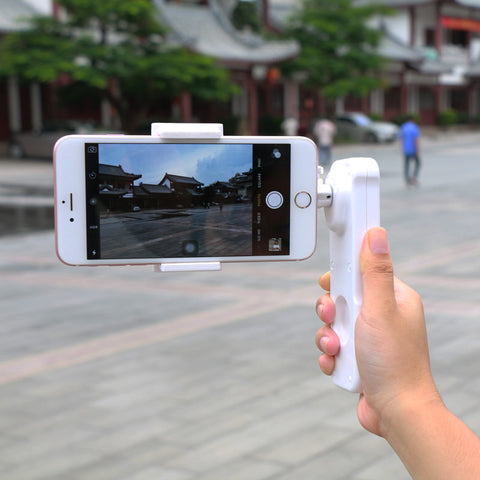 X-Cam Sight 2 Axis Smartphone Handheld Brushless Gimbal Video Stabilizer Mobile stabilizing Steadycam for iPhone 6s Plus Samsung