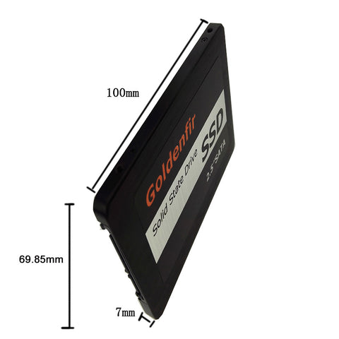 SSD 32GB 60GB 120GB 240GB 2.5 inch Goldenfir  internal solid stat driver 128GB SSD 2.5 for tablet desktop SSD 256gb