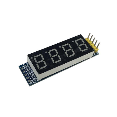 4 Bits VCC 3.3V-5.5V Digital Tube 8SEG LED V1.0 Display Module & Clock For Raspberry Pi for Arduino