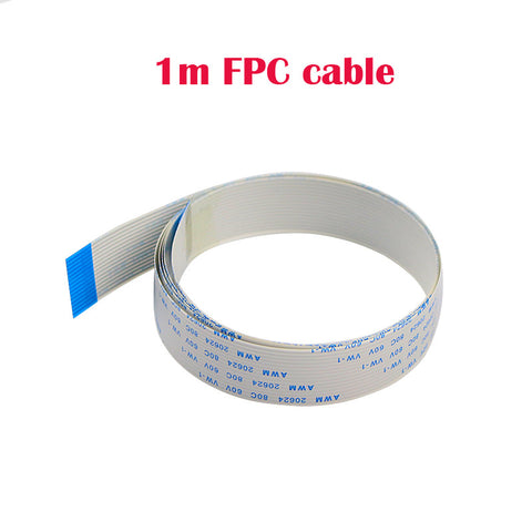 Ribbon FPC 15pin 0.5mm 1m Pitch flat Wire Cable for Raspberry Pi Camera FFC cable for Raspberry pi 3 night vision camera