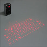 Portable Wireless Bluetooth USB Connection Laser Projection Keyboard Virtual Keyboard for Notebook Phone Tablet PC
