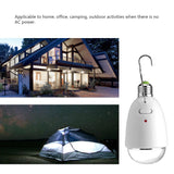 Solar Power  Super Bright Emergency lights LED Bulb Rechargeable Lamp Remote Control Light