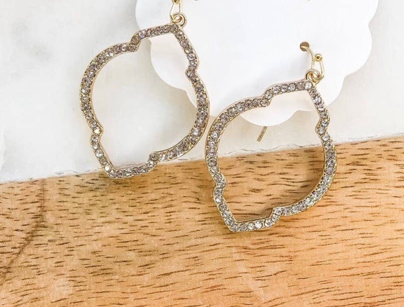 Marquee Pave Earrings