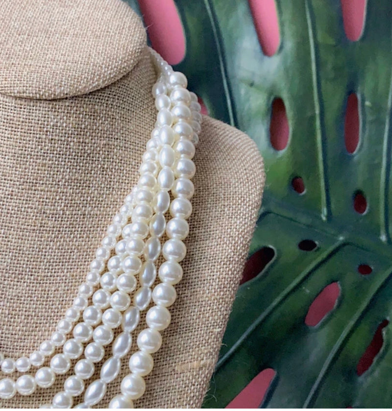 Grace multi layer pearls