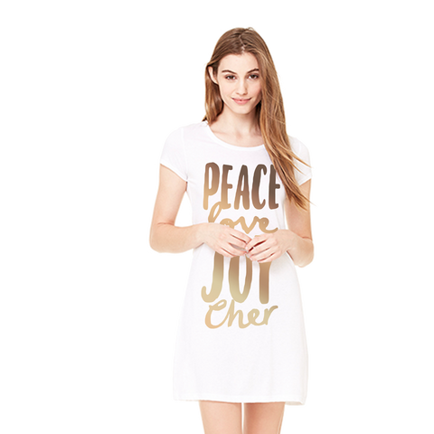 Peace Love and Joy Dress