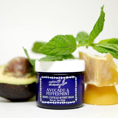 Avocado & Peppermint Balm