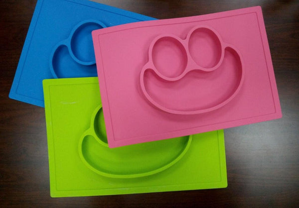 HappySatchels Silicone Plate Mat - HappySatchels