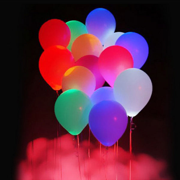 HappySatchels LED Balloons - Great for Weddings, Birthdays and Parties - HappySatchels