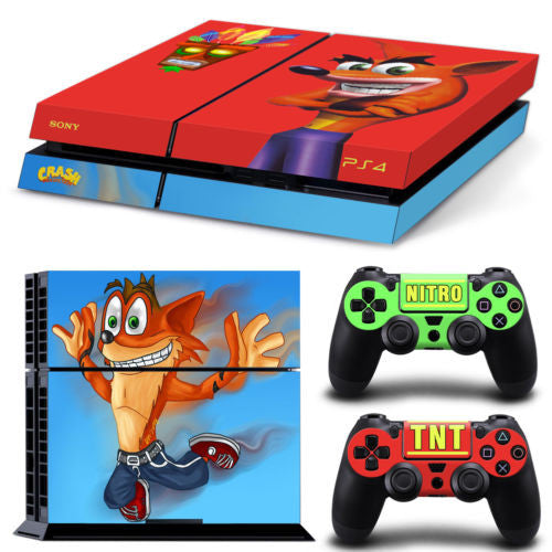 Crash Bandicoot Skin for PS4 - HappySatchels