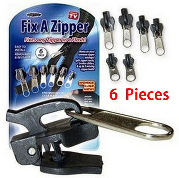 6pc Fix a Zipper™ (As Seen on Tv) - HappySatchels
