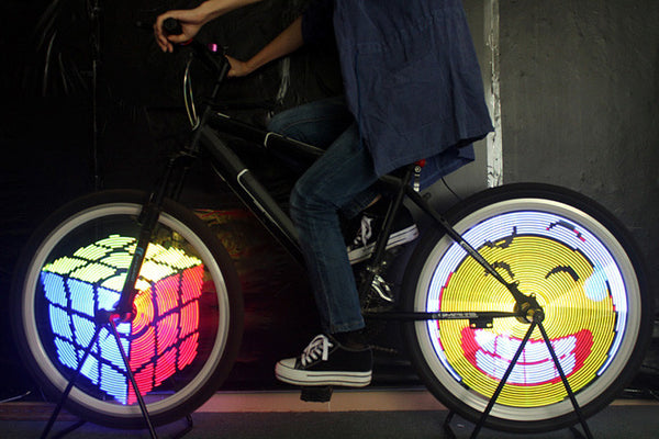 Amazing Programmable Bicycle LED Lights (128-LED)