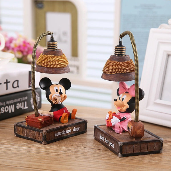 Mickey/Minnie Mouse Figurine Nightlight