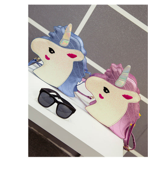 Unicorn Shoulder Handbag - HappySatchels