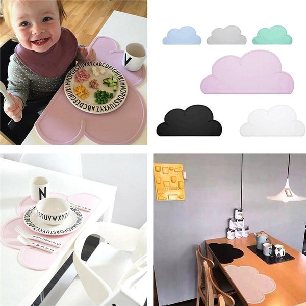 Make-Meal-Fun Silicone Baby Placemat - HappySatchels