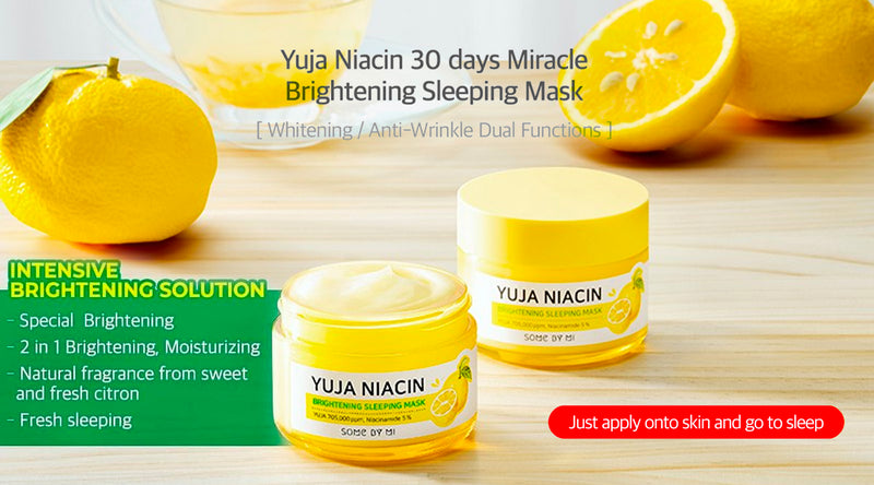 SOMEBYMI™ Yuja Niacin Brightening Sleeping Mask Benefits