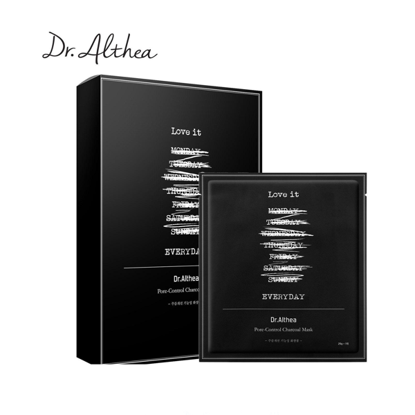 DR. ALTHEA™ Pore-Control Charcoal Mask (5pcs) - LilyVanity