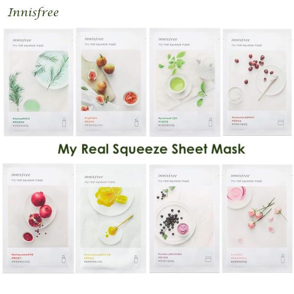 INNISFREE™ My Real Squeeze Mask (2 Sheets) - LilyVanity