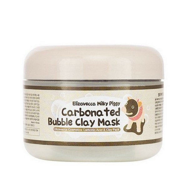 ELIZAVECCA™ Milky Piggy Carbonated Bubble Clay Mask - LilyVanity