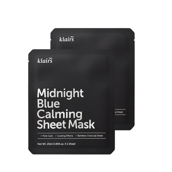 KLAIRS™ Midnight Blue Calming Sheet Mask - LilyVanity