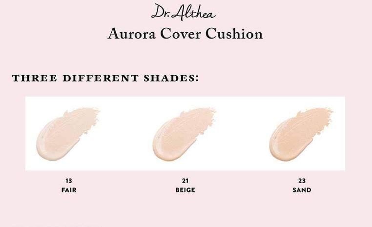 DR. ALTHEA™ Aurora Cover Cushion (includes one free refill)