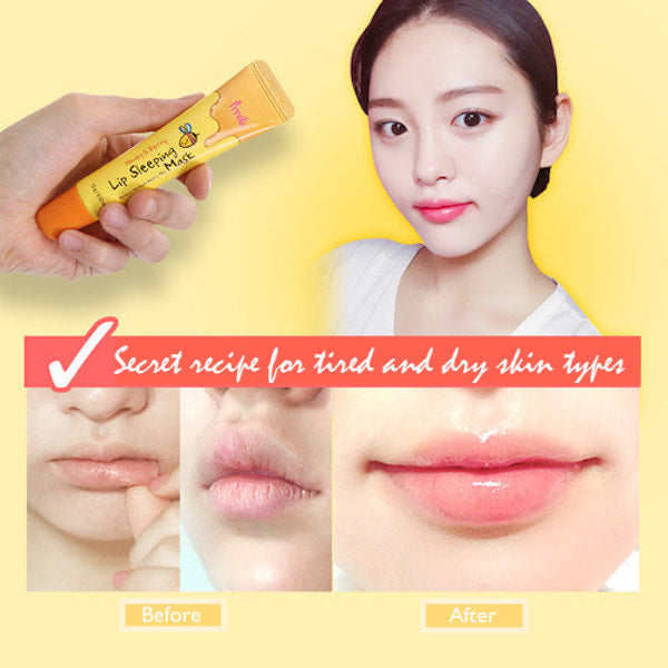 PRRETI™ Honey and Berry Lip Sleeping Mask - LilyVanity