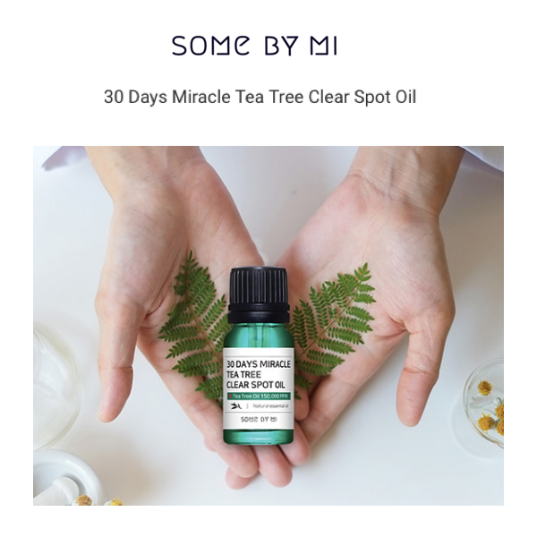 SOMEBYMI™ 30 Days Miracle Tea Tree Clear Spot Oil - LilyVanity