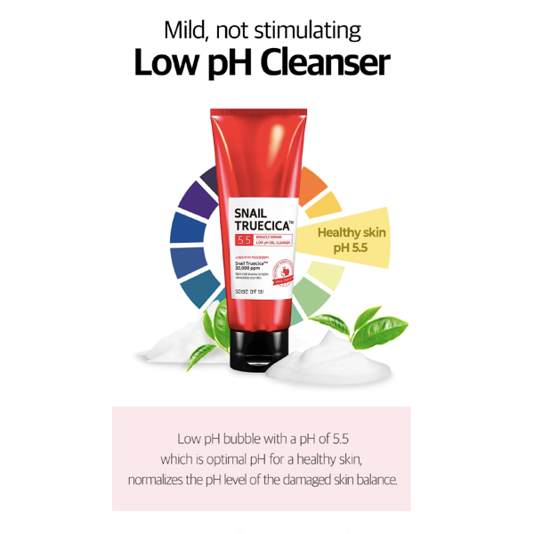SOMEBYMI™ Snail Truecica Low pH Gel Cleanser - LilyVanity