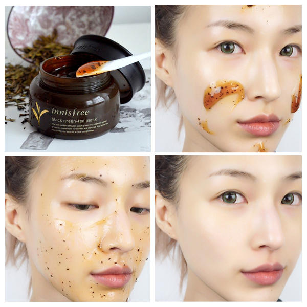 INNISFREE™ Black Green Tea Mask - LilyVanity
