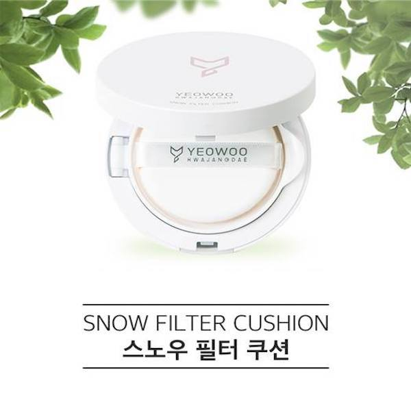 YEOWOO™ Snow Filter Cushion SPF 50+ PA+++ - LilyVanity