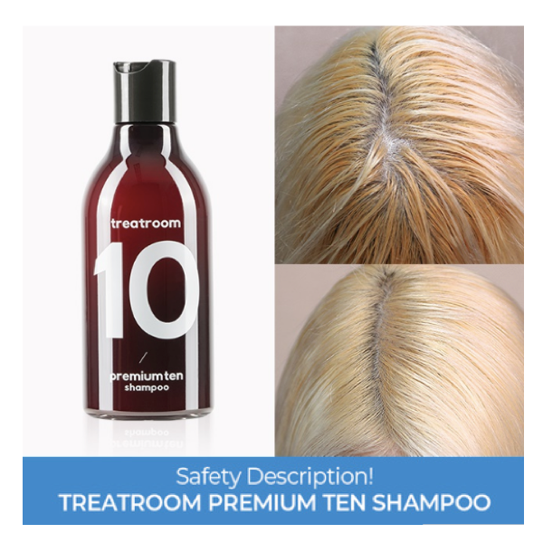 TREATROOM™ Premium Ten Shampoo