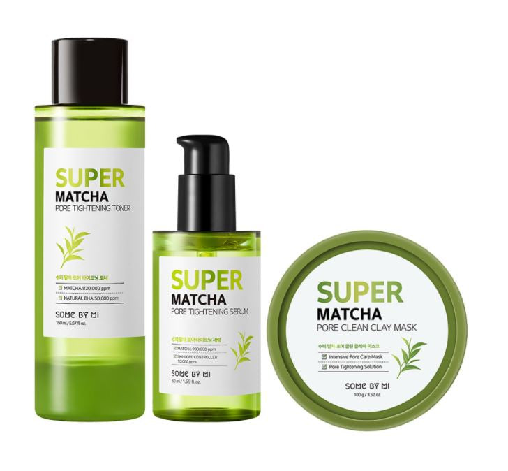 SOMEBYMI™ Super Matcha Pore Care Bundle Set
