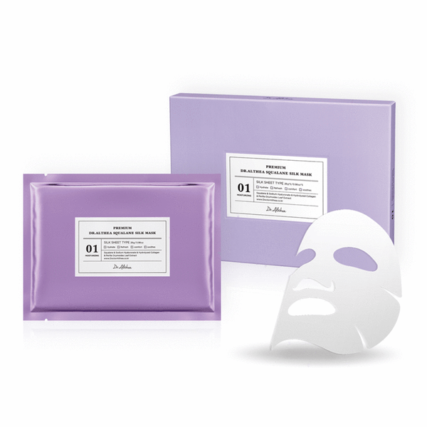 Premium DR. ALTHEA™  Squalane Silk Mask (5 pack)
