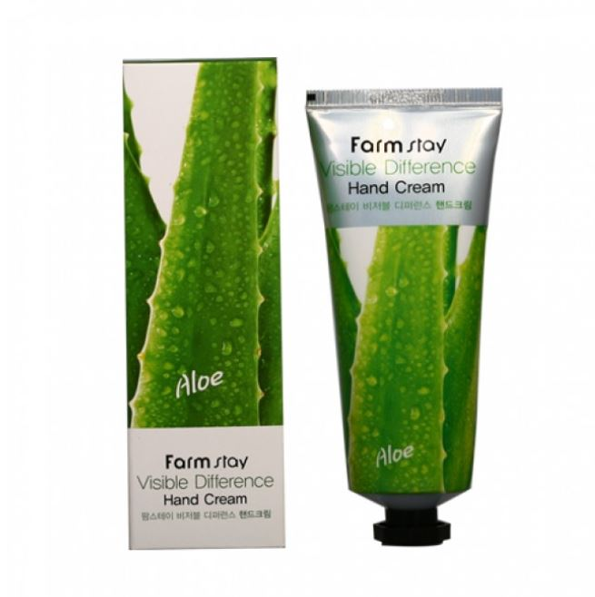 FARMSTAY™ Visible Difference Hand Cream Aloe - LilyVanity