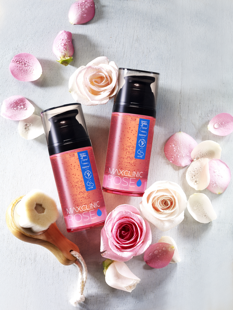MAXCLINIC™ Rose Vitamin Oil Foam