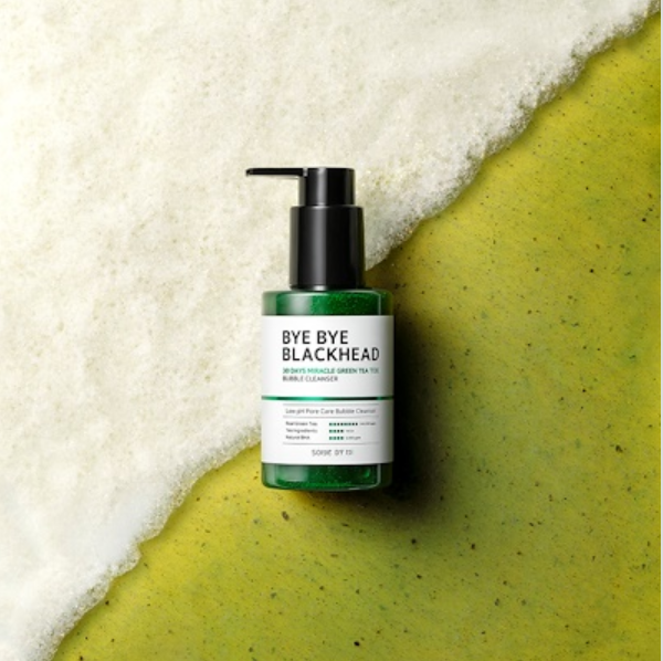 SOMEBYMI™ Bye Bye Blackhead 30 Days Miracle Green Tea Tox Bubble Cleanser - LilyVanity