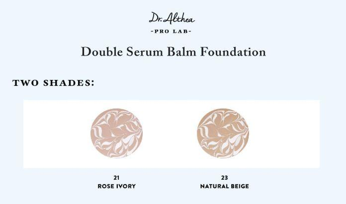 DR. ALTHEA™ Double Serum Balm Foundation