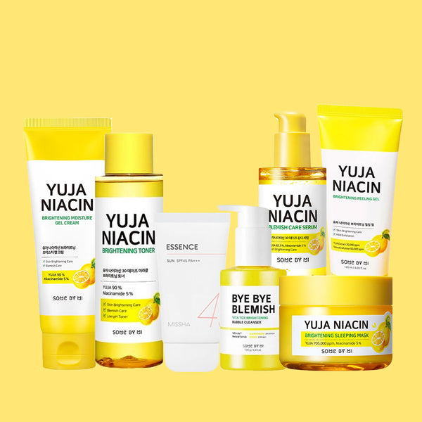 SOMEBYMI™ Yuja Niacin Complete Series Bundle Set