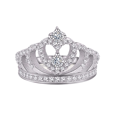 LilyVanity™ Fit-For-a-Queen Royalty Crown Ring - LilyVanity