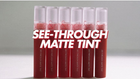 ROMAND™ See Through Matte Tint (6 variants) - LilyVanity