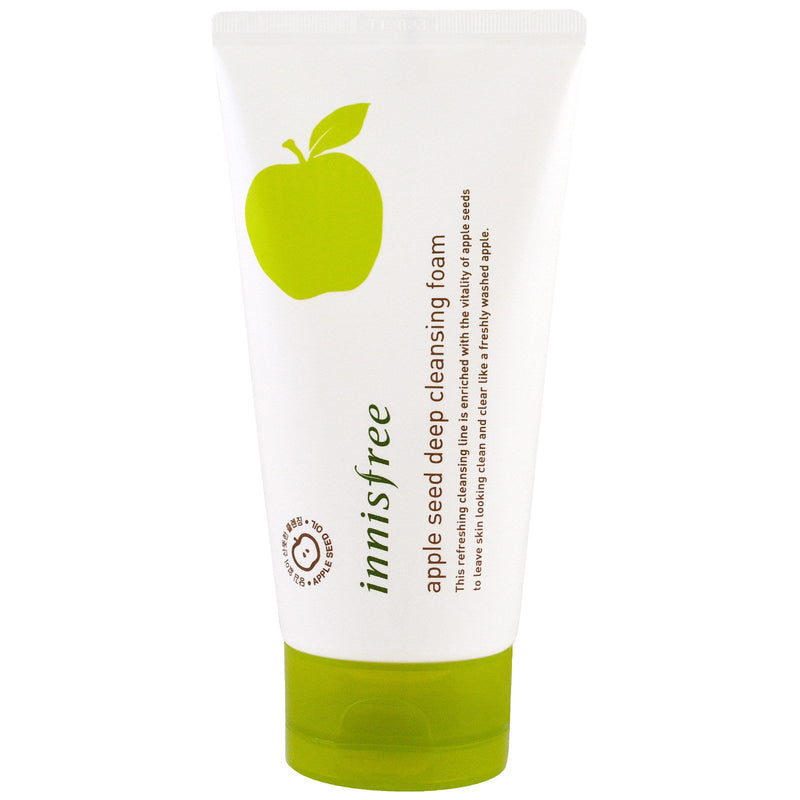 INNISFREE™ Apple Seed Deep Cleansing Foam Travel Size 10ml - LilyVanity