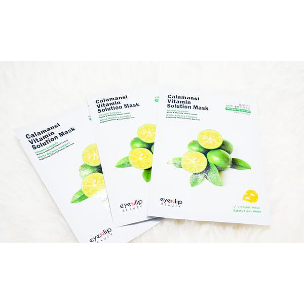 EYENLIP™ Calamansi Vitamin Solution Mask [5pcs/pack] - LilyVanity