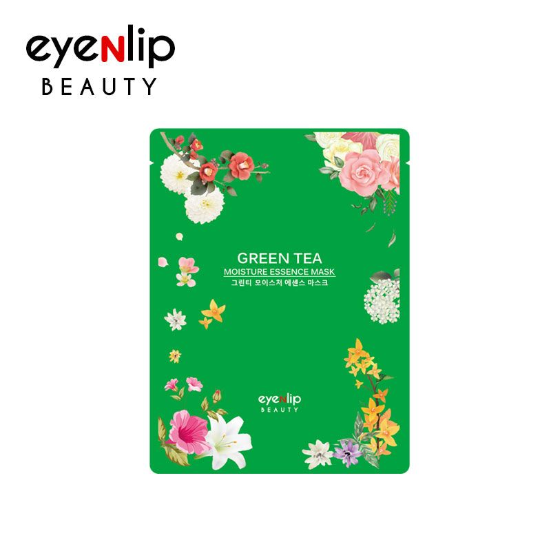 EYENLIP™ Green Tea Oil Moisture Essence Mask [10 pcs/pack] - LilyVanity