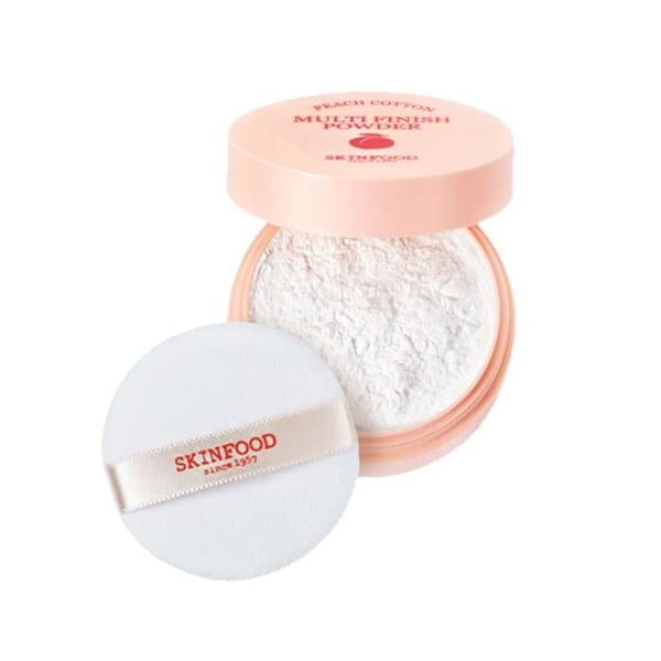 SKINFOOD™ Peach Cotton Multi Finish Powder - LilyVanity
