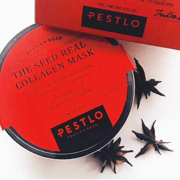 PESTLO™ The Seed Real Collagen Mask - LilyVanity