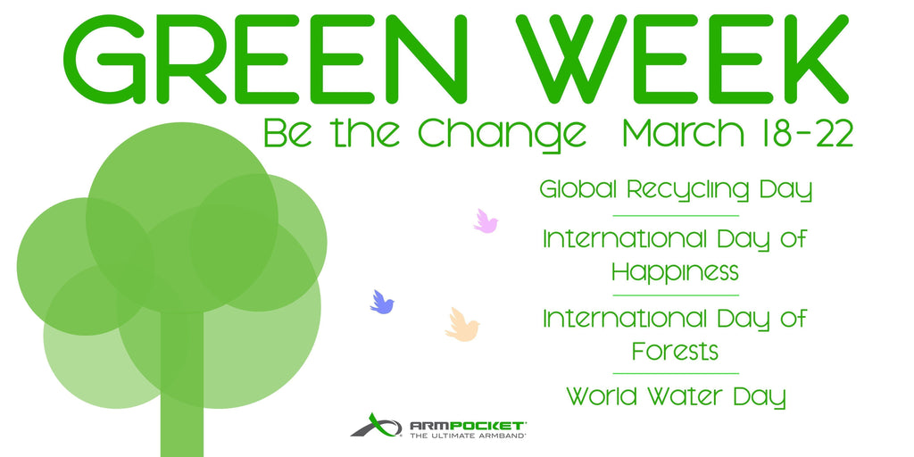It's Green Week  Here at Armpocket HQ!!!