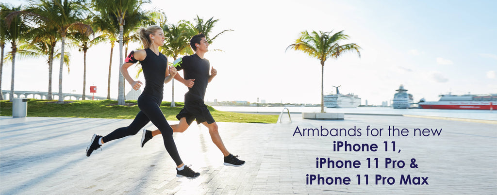 Armpocket Armbands for the New iPhone 11, iPhone 11 Pro, and iPhone 11 Pro Max!