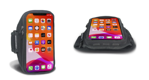 Armpocket X and Armpocket X Plus armbands for iPhone 11, 11 Pro, and 11 Pro Max